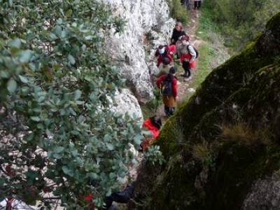 Senderismo Guadalajara - Monumento Natural Tetas de Viana. viajes puente octubre
